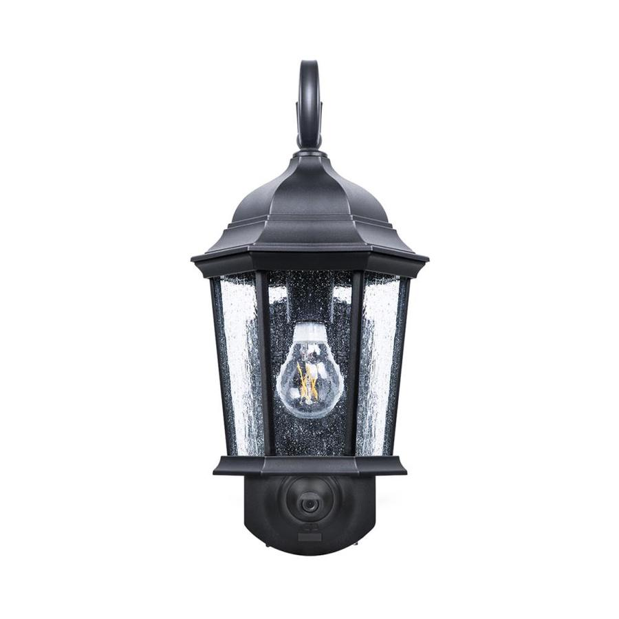Solar Powered Traditional Outdoor Wall Light Lantern Single or Pair available