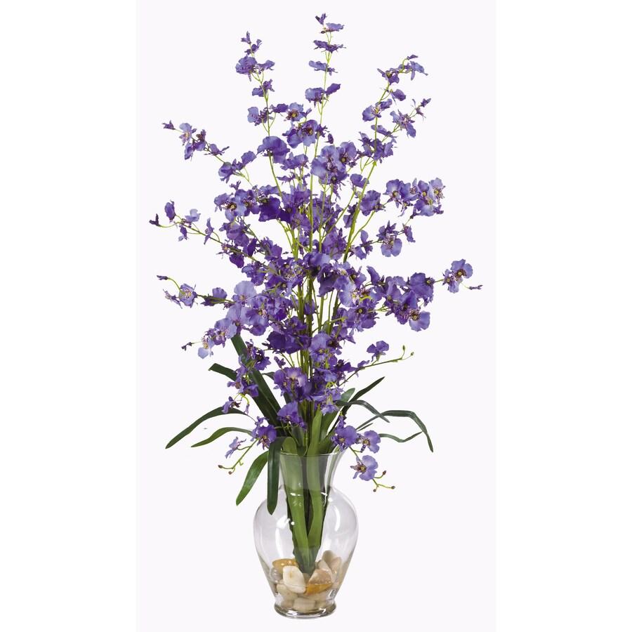 Nearly Natural 31-in Purple Silk Arrangement