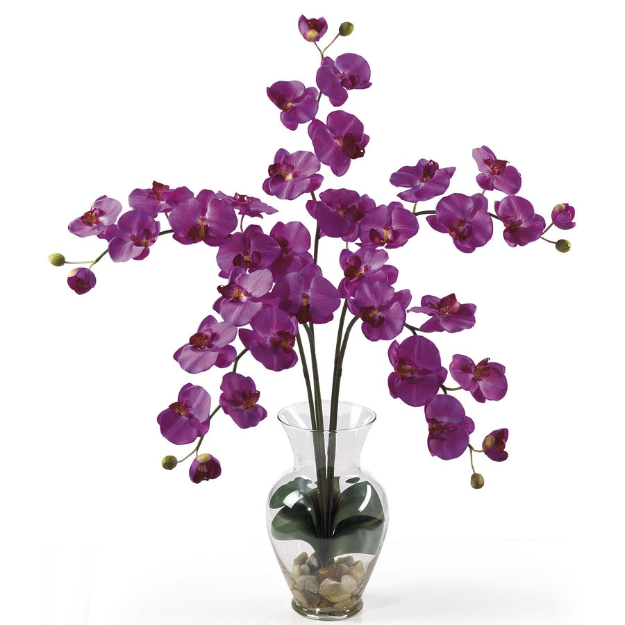 Nearly Natural 31-in Orchid Silk Arrangement