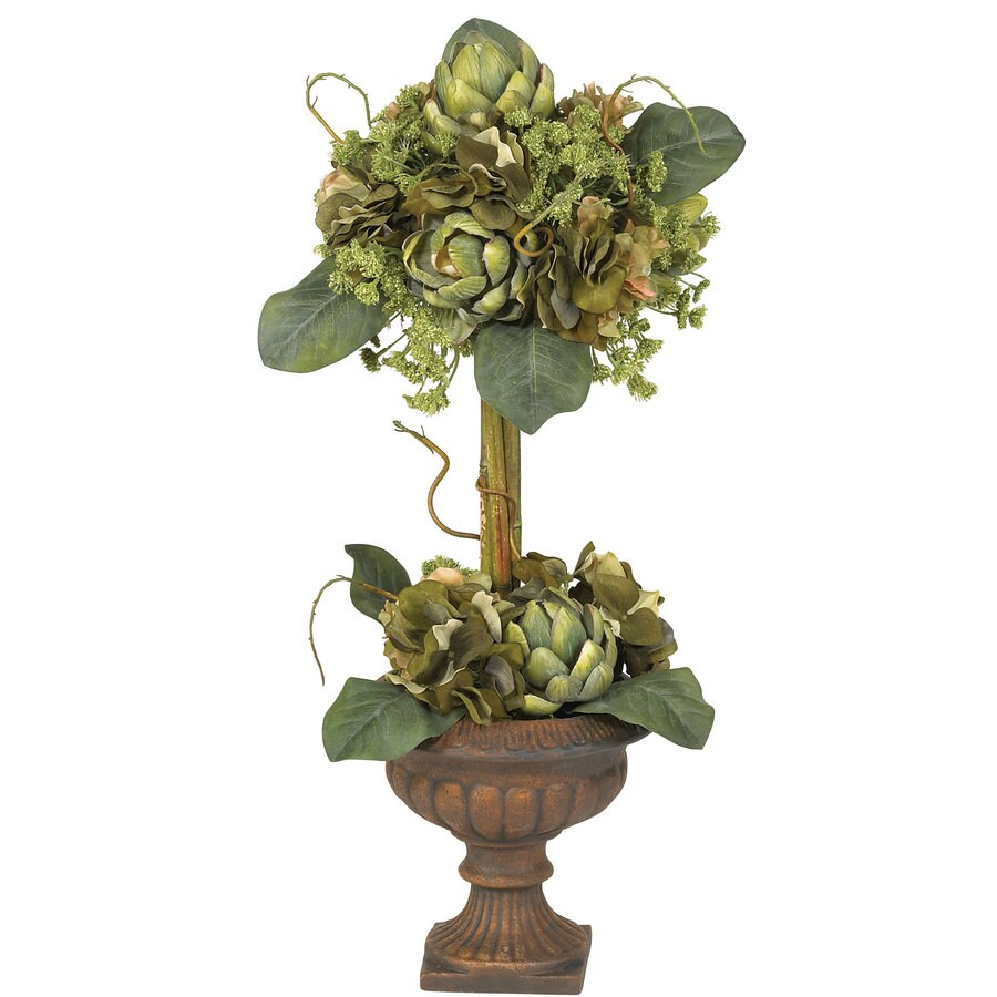 Nearly Natural 24-in Green Silk Arrangement