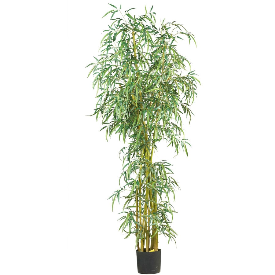 Nearly Natural 84-in Green Silk Tree