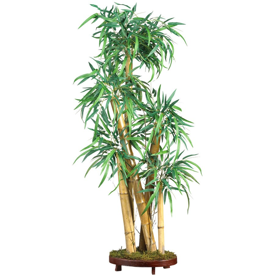 Nearly Natural 42-in Green Silk Tree