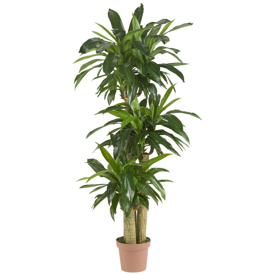 Nearly Natural 57-in Green Silk Tree