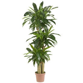 Shop artificial plants at lowes nearly natural 57 in green artificial silk tree mightylinksfo