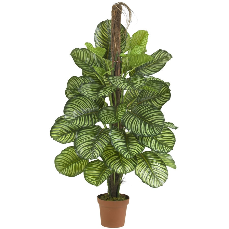 Nearly Natural 52-in Green Silk Plant