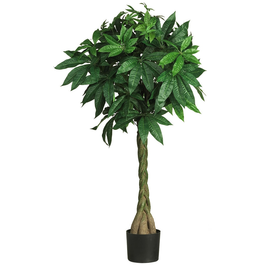 Nearly Natural 51-in Green Silk Tree