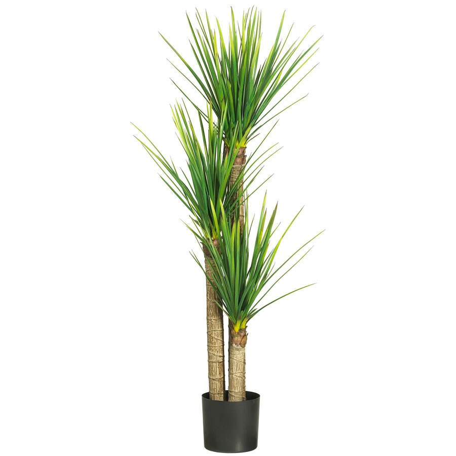 Nearly Natural 58.5-in Green Silk Tree
