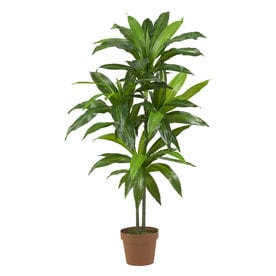 Shop artificial plants at lowes nearly natural 43 in green artificial silk tree mightylinksfo