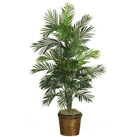Nearly Natural 56 In Green Artificial Silk Tree