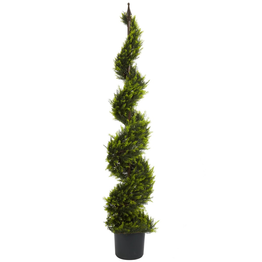 Nearly Natural 60-in Green Silk Tree
