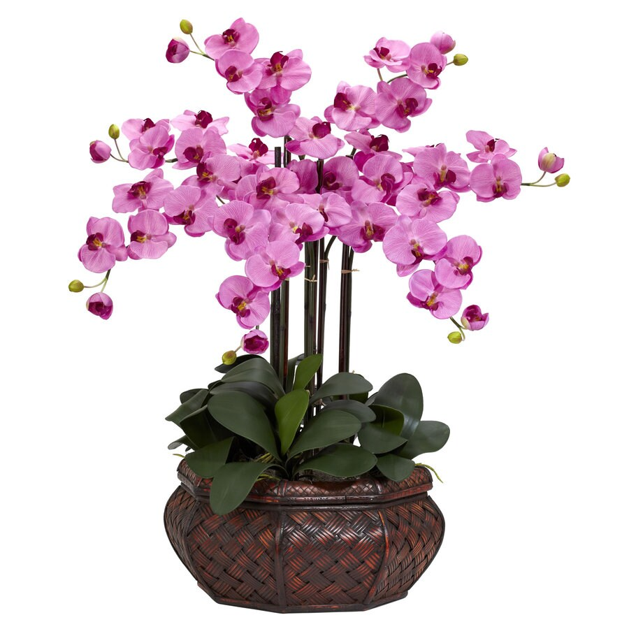 Nearly Natural 30-in Mauve Silk Arrangement