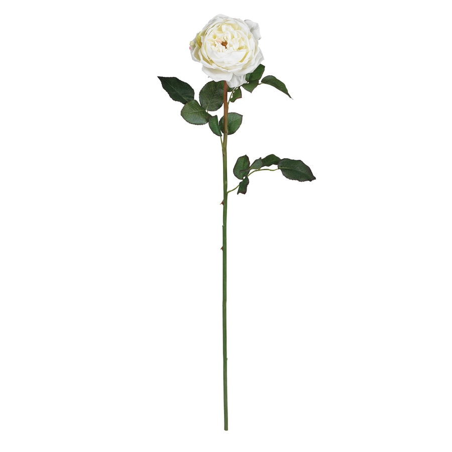 Nearly Natural 31-in White Silk Flower