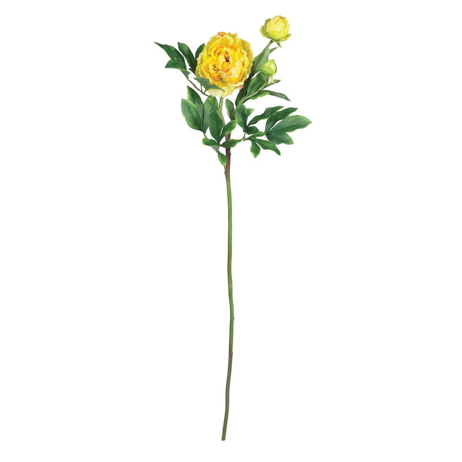 Nearly Natural 38.5-in Yellow Silk Flower