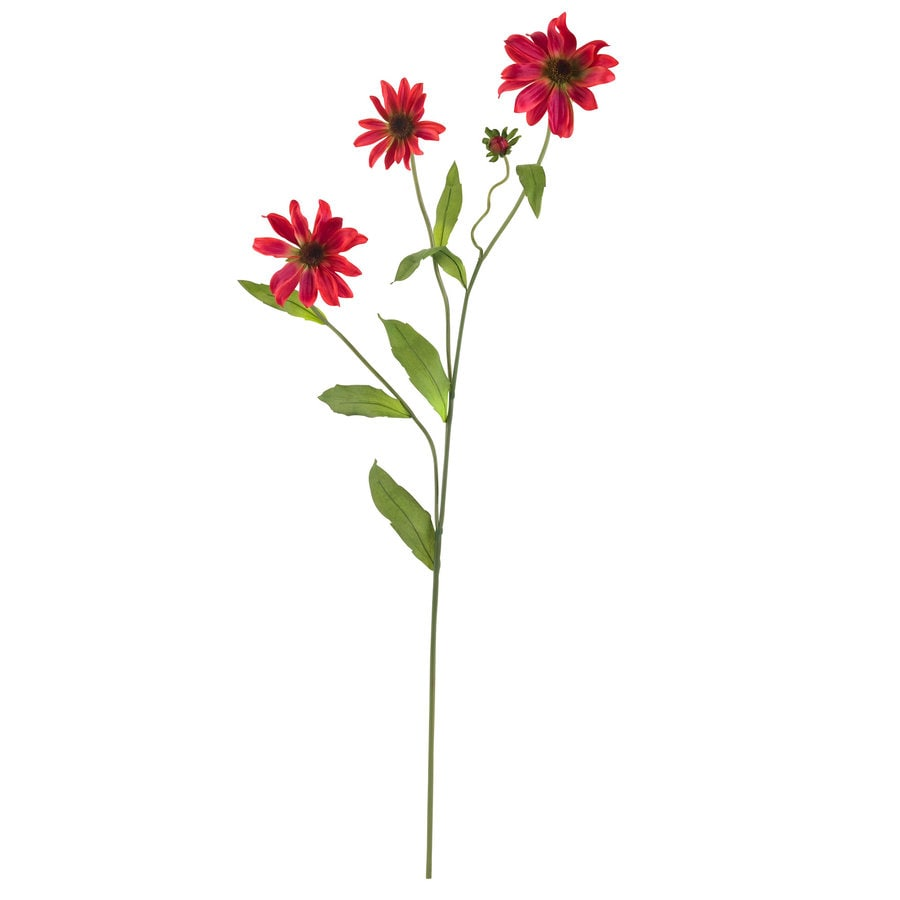 Nearly Natural 28.5-in Red Silk Flower