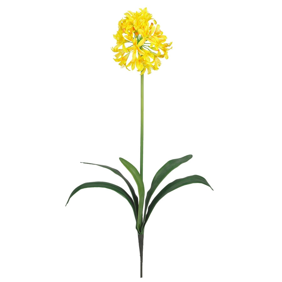 Nearly Natural 29-in Yellow Silk Flower