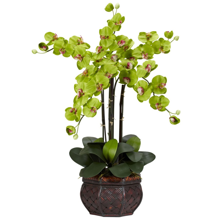 Nearly Natural 31-in Green Silk Arrangement