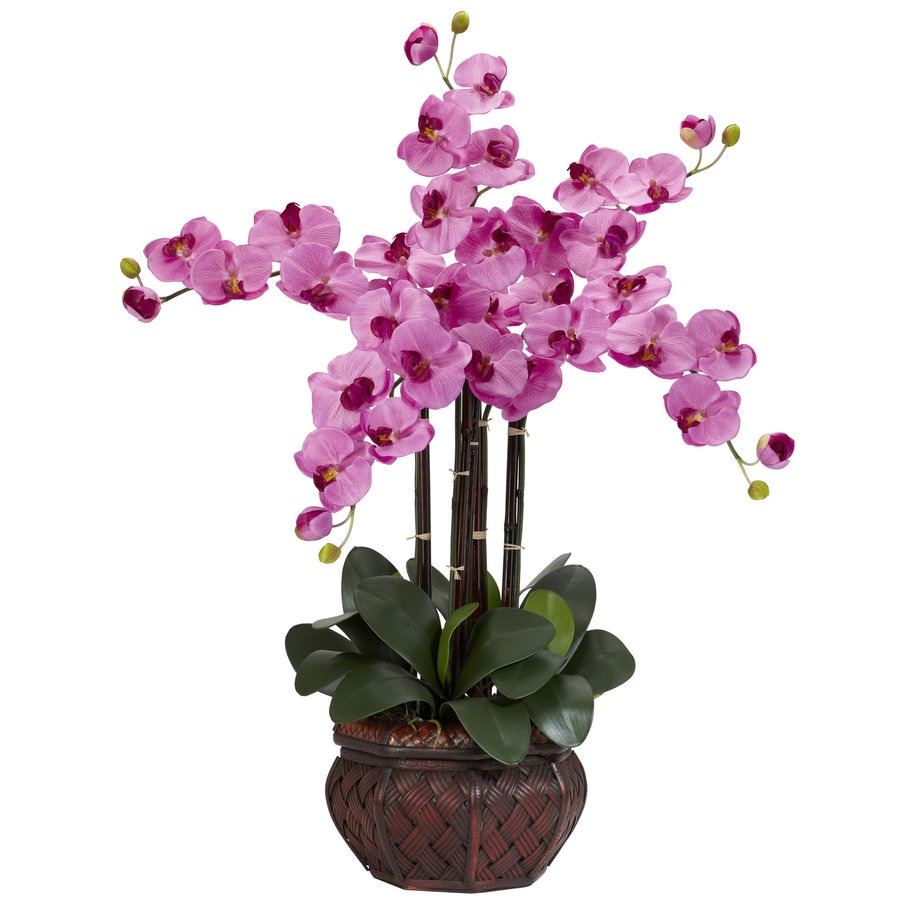 Nearly Natural 31-in Mauve Silk Arrangement