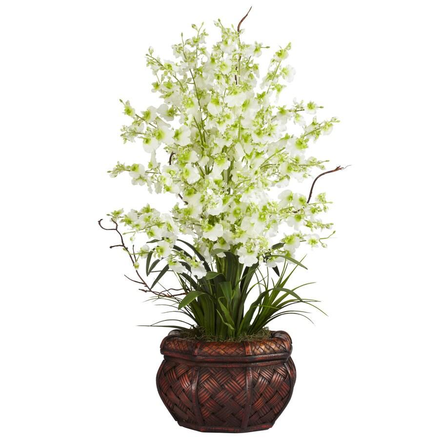 Nearly Natural 30-in Green Silk Arrangement