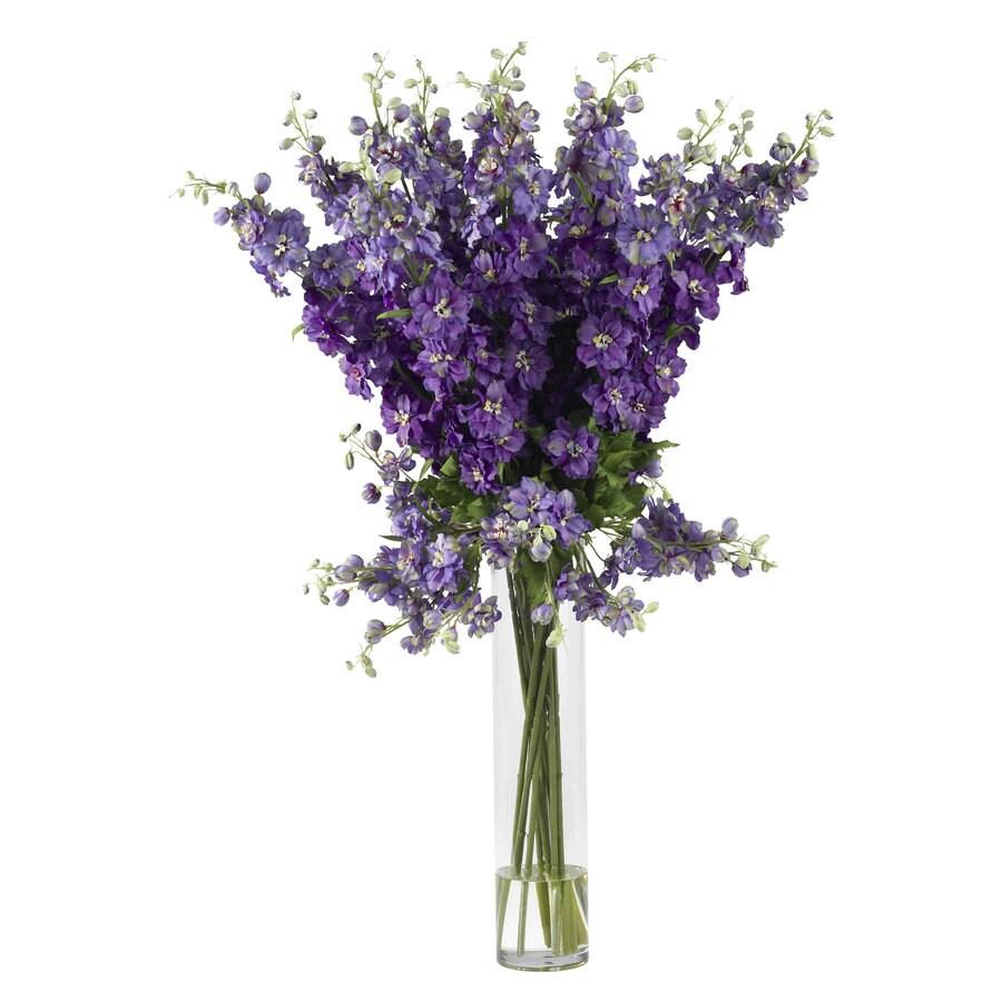 Nearly Natural 38-in Purple Silk Arrangement