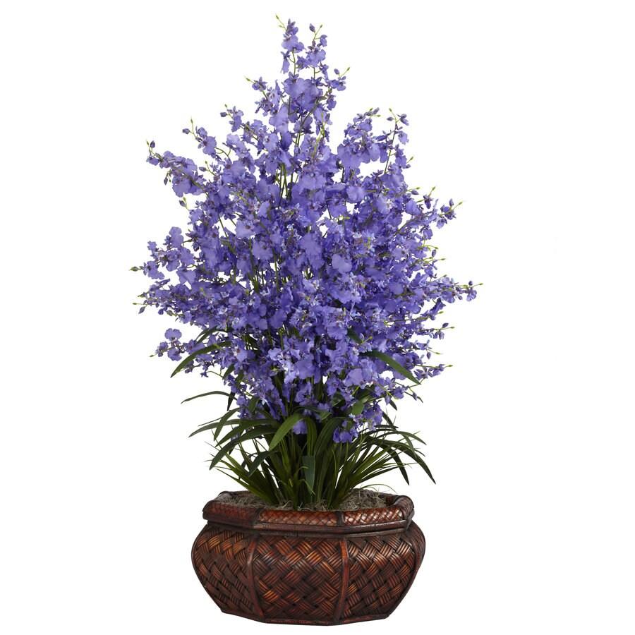 Nearly Natural 36-in Purple Silk Arrangement