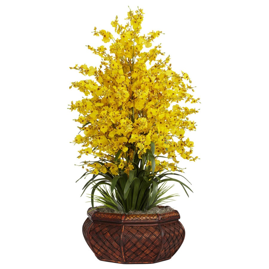 Nearly Natural 36-in Yellow Silk Arrangement