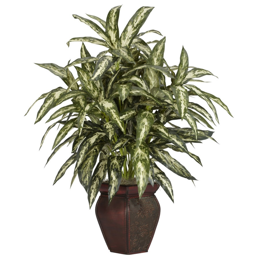 Nearly Natural 30-in Green Silk Plant