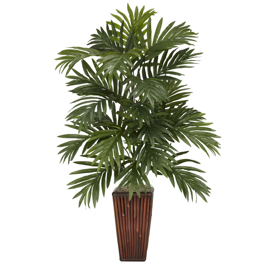 Nearly Natural 32-in Green Silk Plant