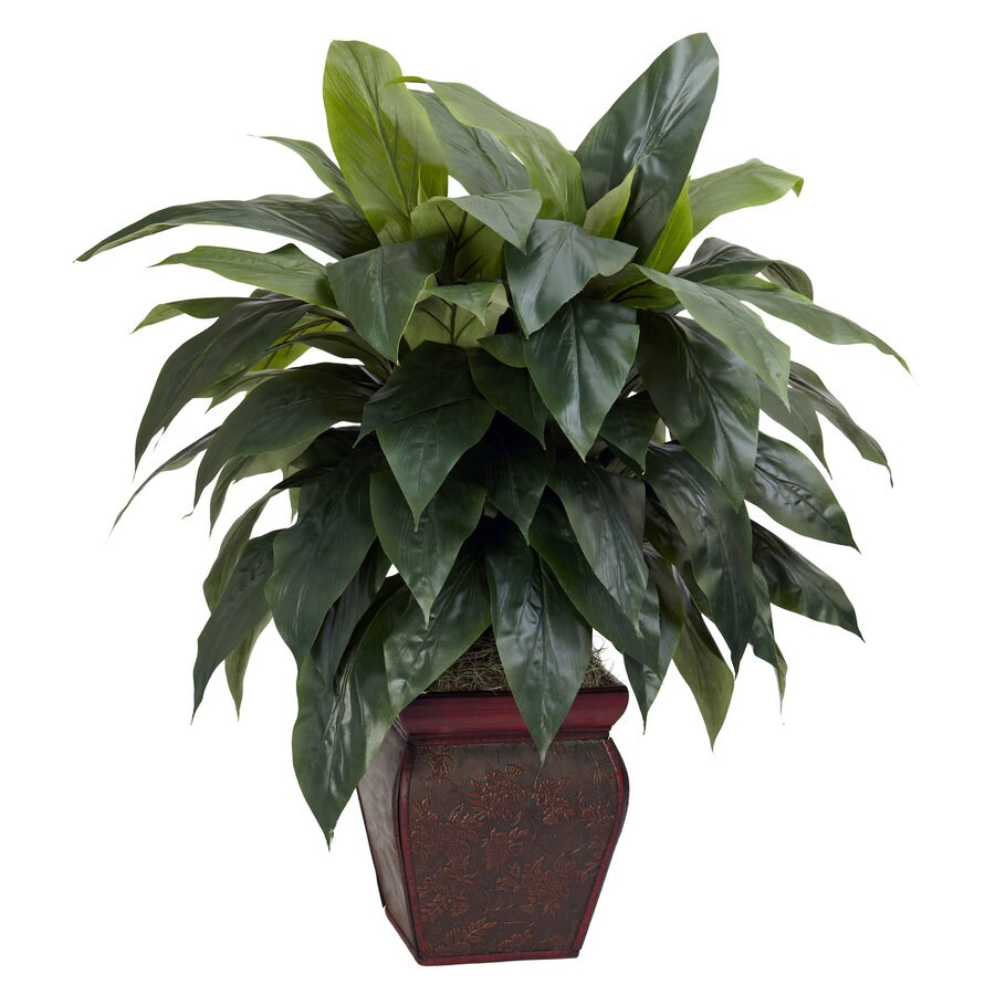 Nearly Natural 35-in Green Silk Plant