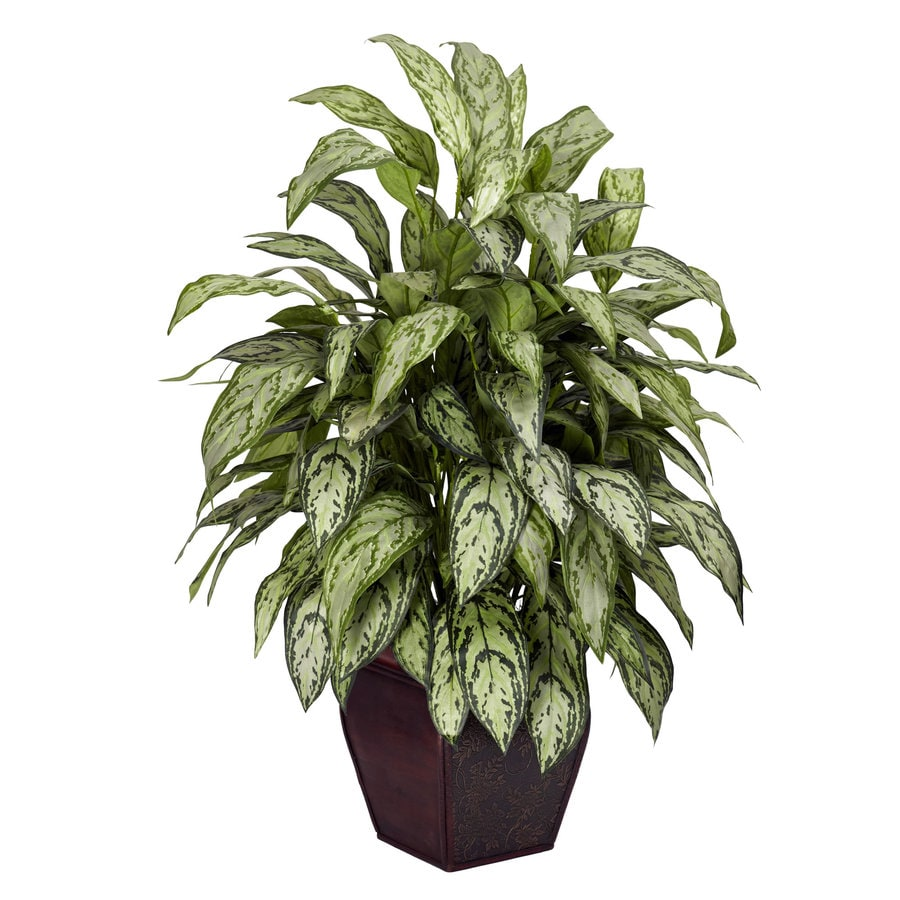 Nearly Natural 38-in Green Silk Plant