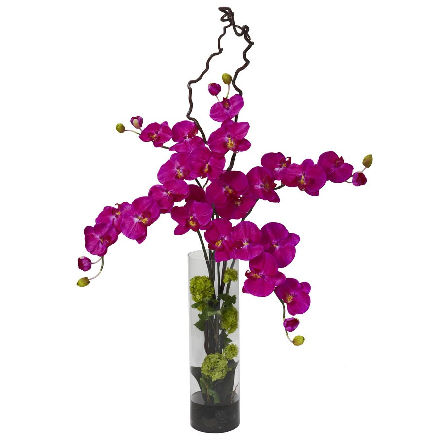 Nearly Natural 47-in Orchid Silk Arrangement