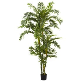 Shop artificial plants at lowes nearly natural 72 in green artificial silk tree mightylinksfo