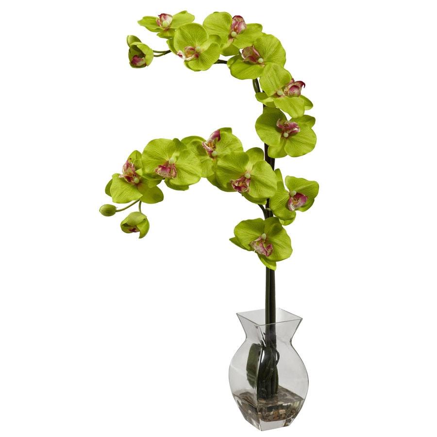 Nearly Natural 24-in Green Silk Arrangement