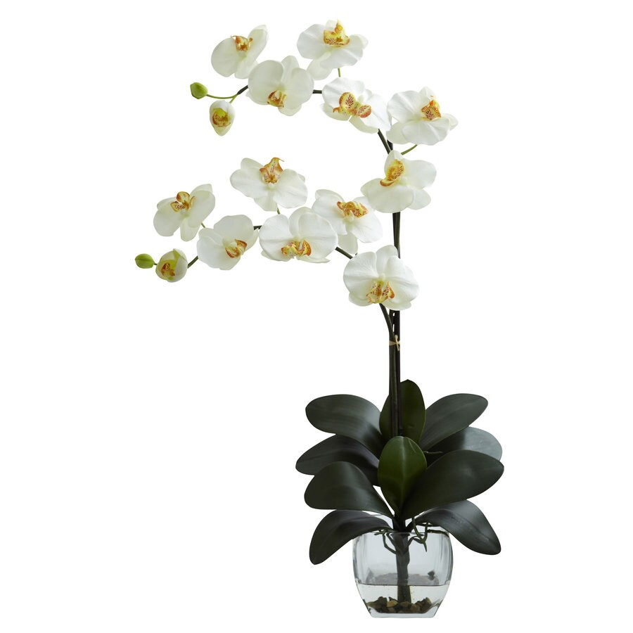 Nearly Natural 27-in Cream Silk Arrangement