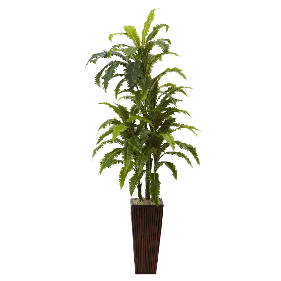 Nearly Natural 55-in Green Silk Plant