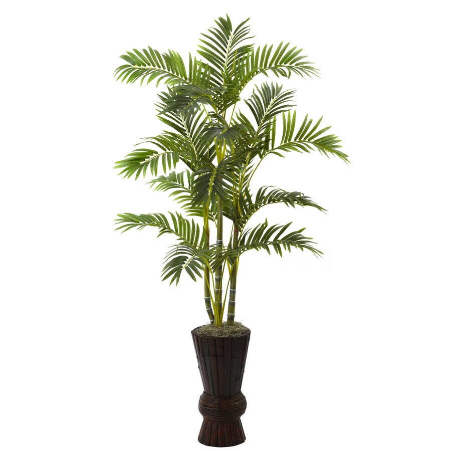 Nearly Natural 62-in Green Silk Tree