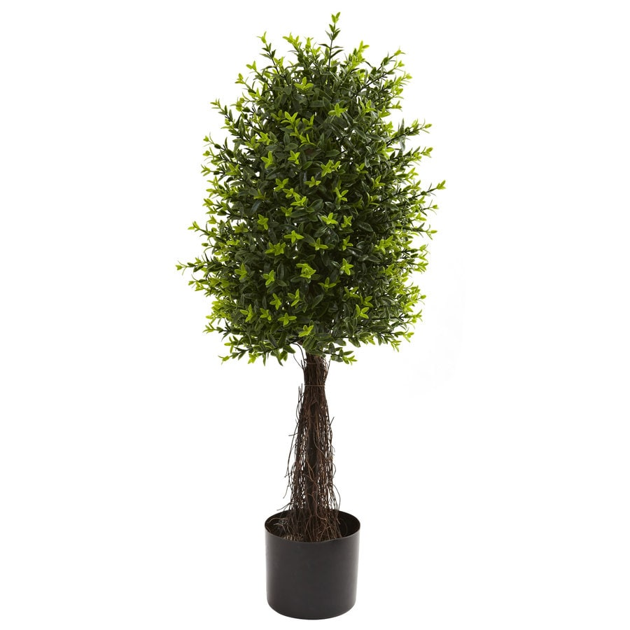 Nearly Natural 35-in Green Silk Tree