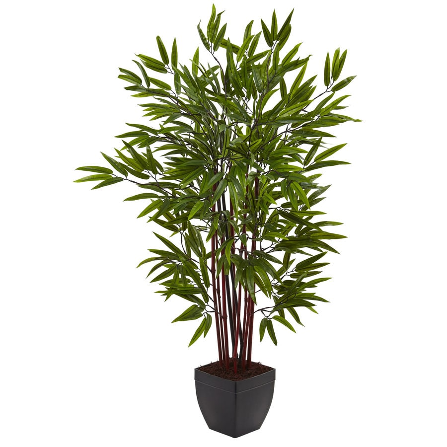 Nearly Natural 48-in Green Bamboo