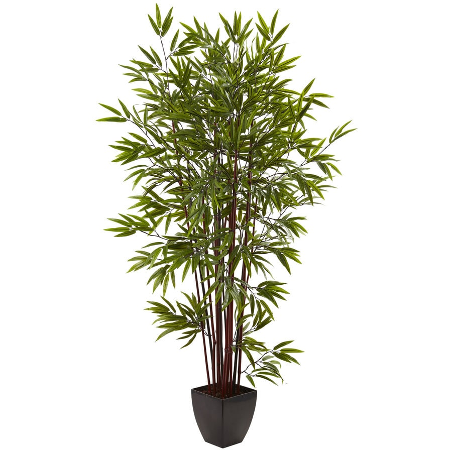 Nearly Natural 72-in Green Bamboo