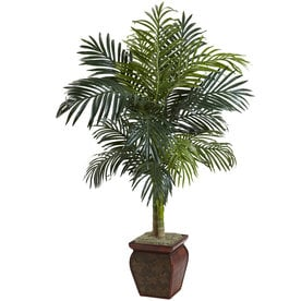 Shop artificial plants at lowes nearly natural 54 in green artificial silk tree mightylinksfo