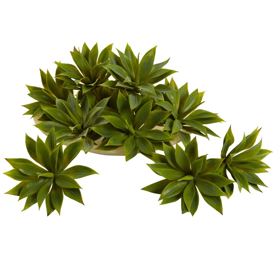 Nearly Natural 5-in Green Silk Plant