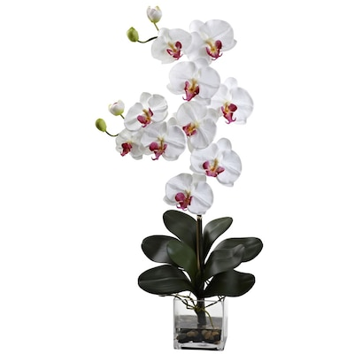 Nearly Natural 30 75-in White Artificial Silk arrangement at
