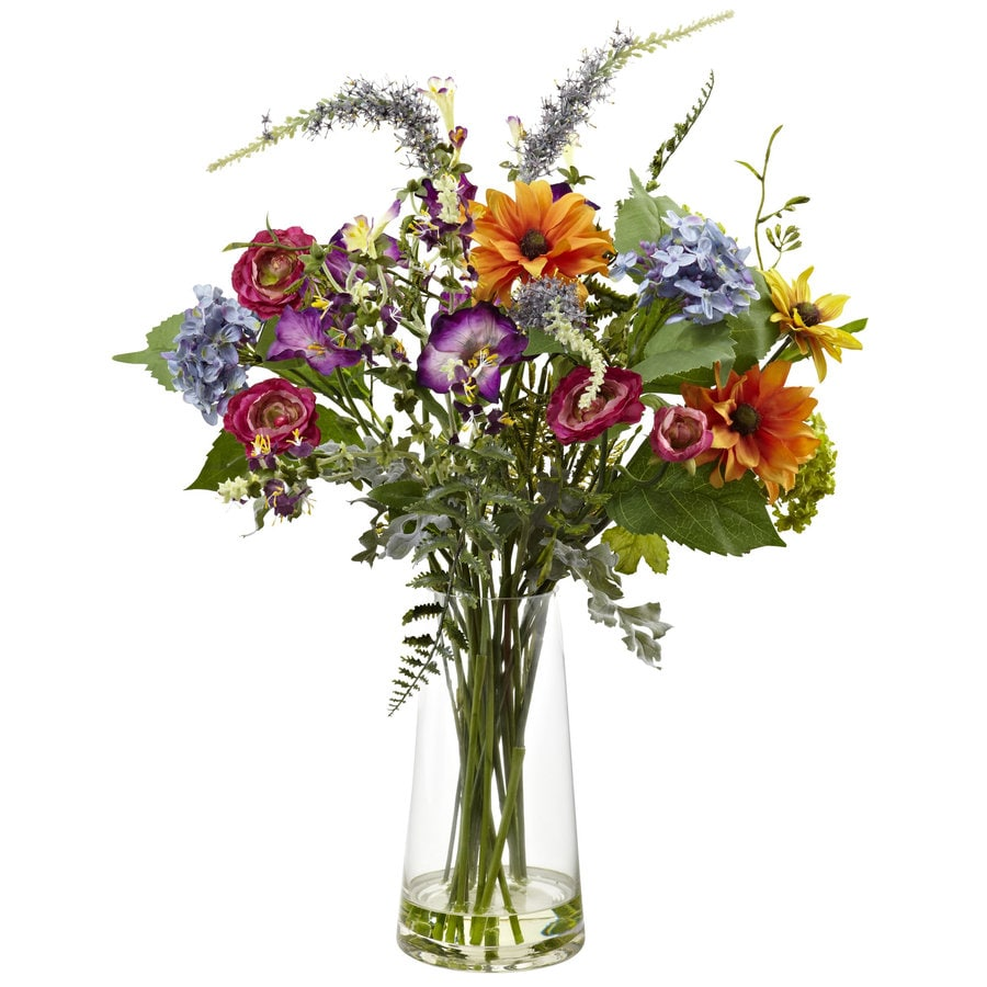 Nearly Natural 24-in Assorted Silk Arrangement