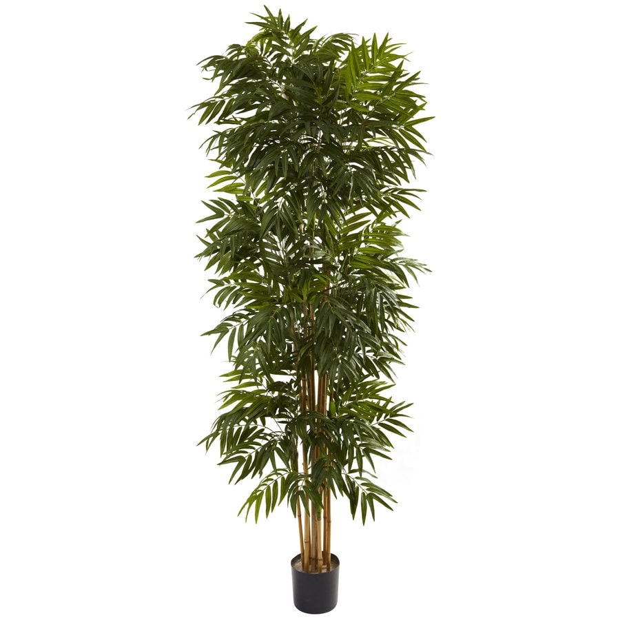 Nearly Natural 90-in Green Silk Tree
