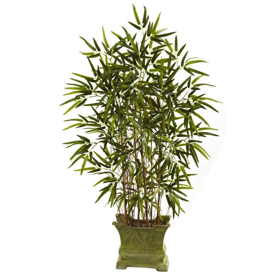 Nearly Natural 45-in Green Silk Tree