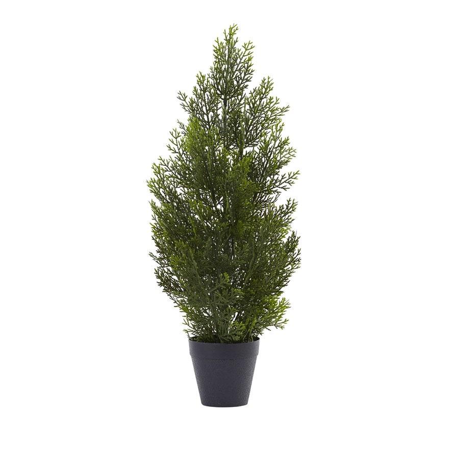 Nearly Natural 24-in Green Cedar Pine