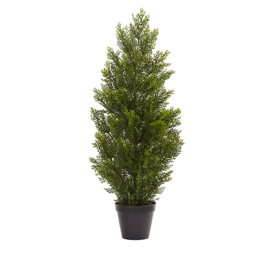 Nearly Natural 36-in Green Cedar Pine
