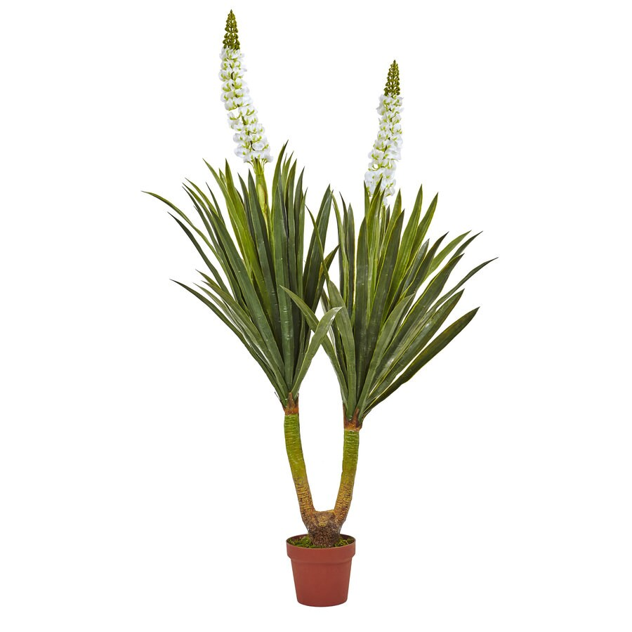 Nearly Natural 57-in Green Yucca