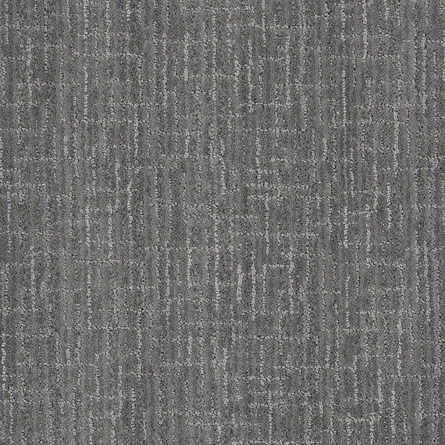 STAINMASTER Active Family Unquestionable Skyline Steel Carpet Sample
