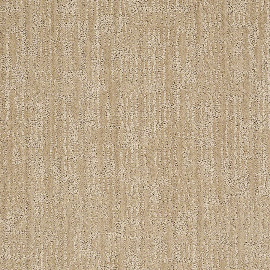 STAINMASTER Active Family Unmistakable Cashmere Sweatr Berber/Loop Carpet Sample