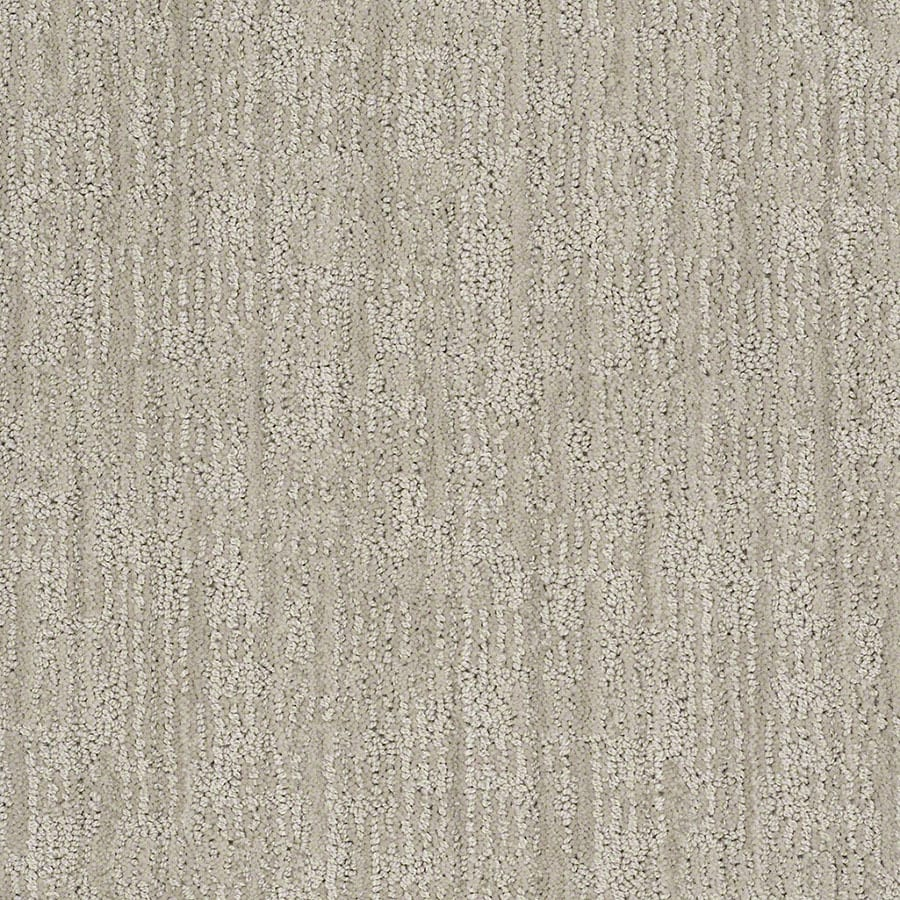 STAINMASTER Active Family Unmistakable Crushed Ice Berber/Loop Carpet Sample